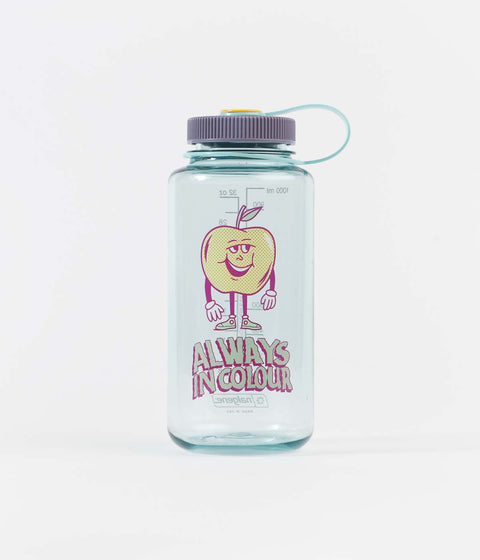 Always In Colour Apple Guy 1L Nalgene Bottle - Sea Foam