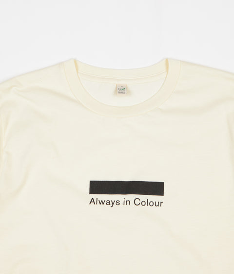 Always in Colour Logo T-Shirt - Ecru