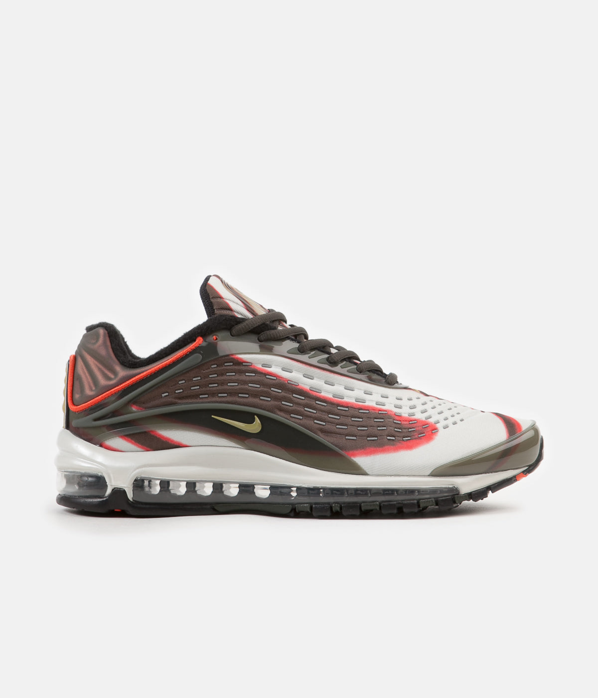 ... Nike Air Max Deluxe Shoes - Sequoia   Camper Green - Team Orange -  Black ... d1bf467baa198