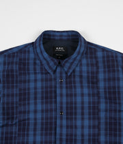 A.P.C. Decalee Overshirt - Dark Blue