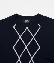 A.P.C. Stephen Sweatshirt - Dark Navy
