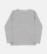 Image for Armor Lux Breton Long Sleeve T-Shirt - Milk / Ebony