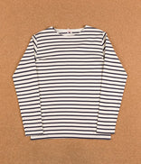 Image for Armor Lux Breton Long Sleeve T-Shirt - Nature / Navy