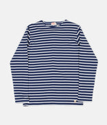 Image for Armor Lux Breton Long Sleeve T-Shirt - Polo / Milk