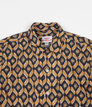 Battenwear Five Pocket Island Shirt - Brown Print