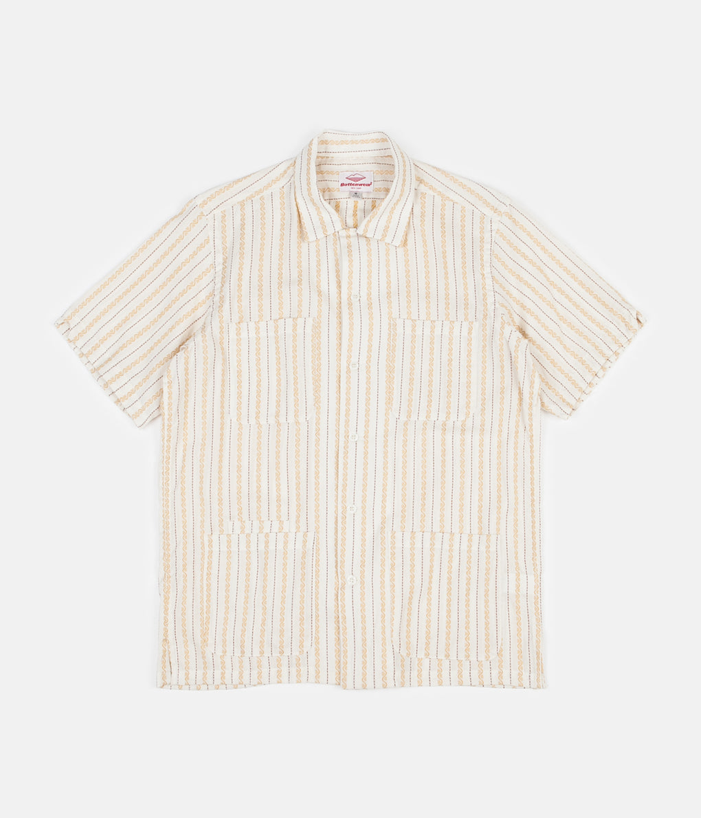 Battenwear Five Pocket Island Shirt - Ivory