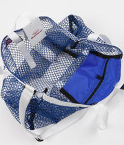 Battenwear Mesh Tote - Royal Blue / White