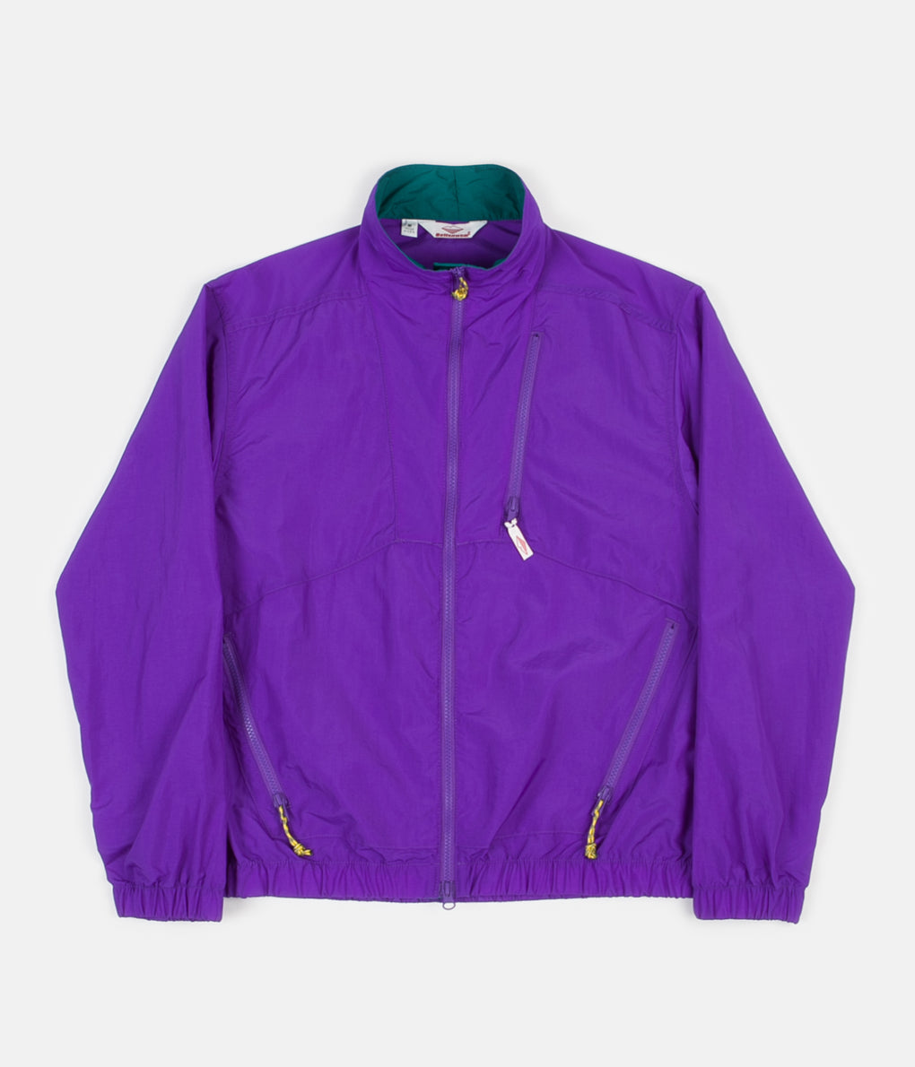 Battenwear Nylon Jump Jacket - Purple / Teal