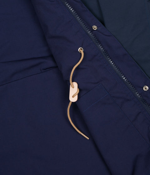 Battenwear Travel Shell Parka Jacket - Navy