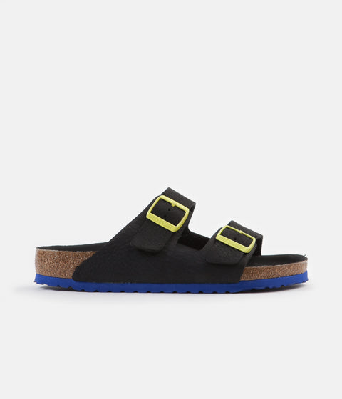 Birkenstock Arizona BS Sandals - Black / White Pop
