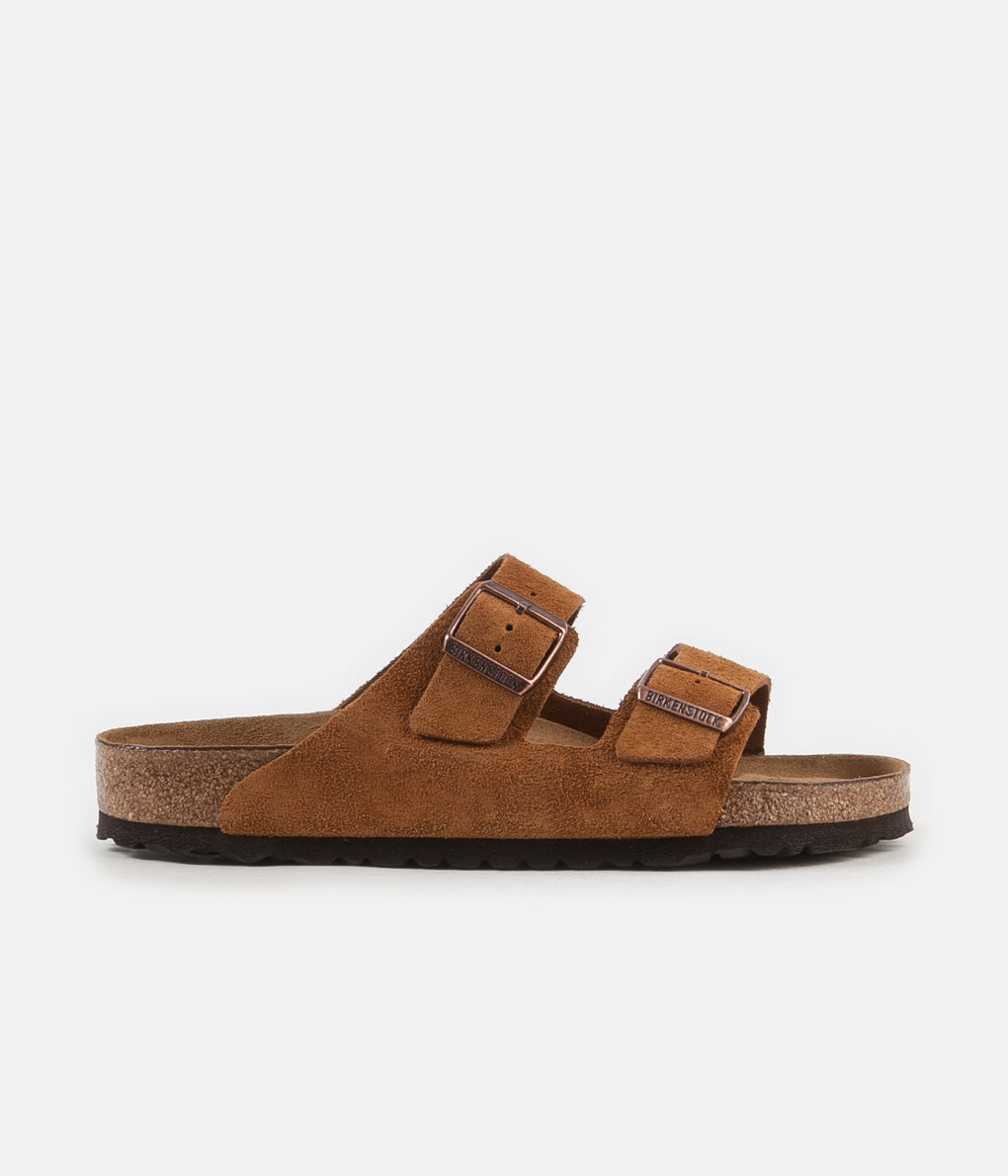 Birkenstock Arizona SFB Sandals - Mink