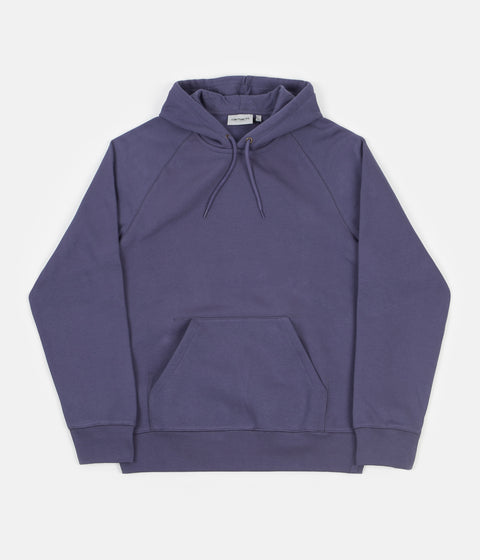 Carhartt Chase Hoodie - Cold Viola / Gold