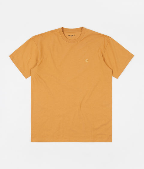 Carhartt Chase T-Shirt - Winter Sun / Gold