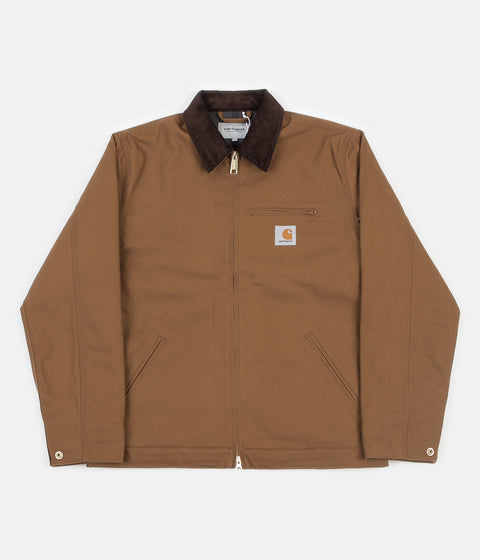Carhartt Detroit Jacket - Hamilton Brown / Black