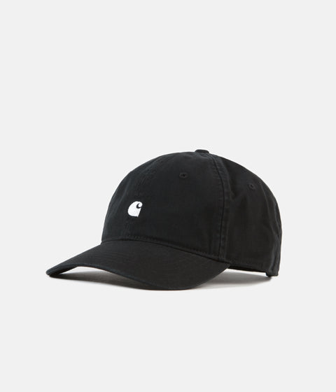 Carhartt Madison Logo Cap - Black / White
