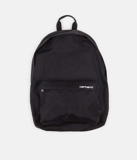 Carhartt Payton Backpack - Black / Black / White