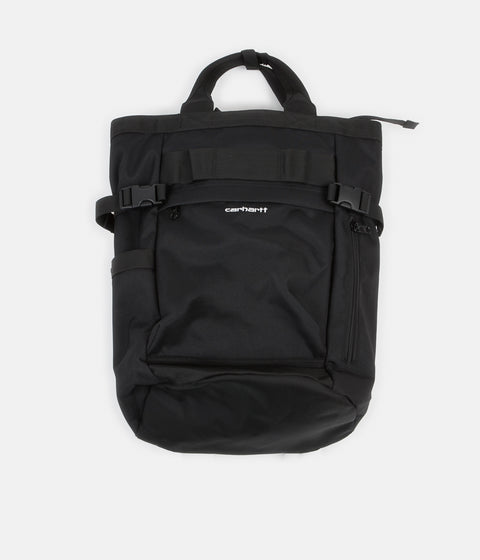 Carhartt Payton Carrier Backpack - Black / Black / White