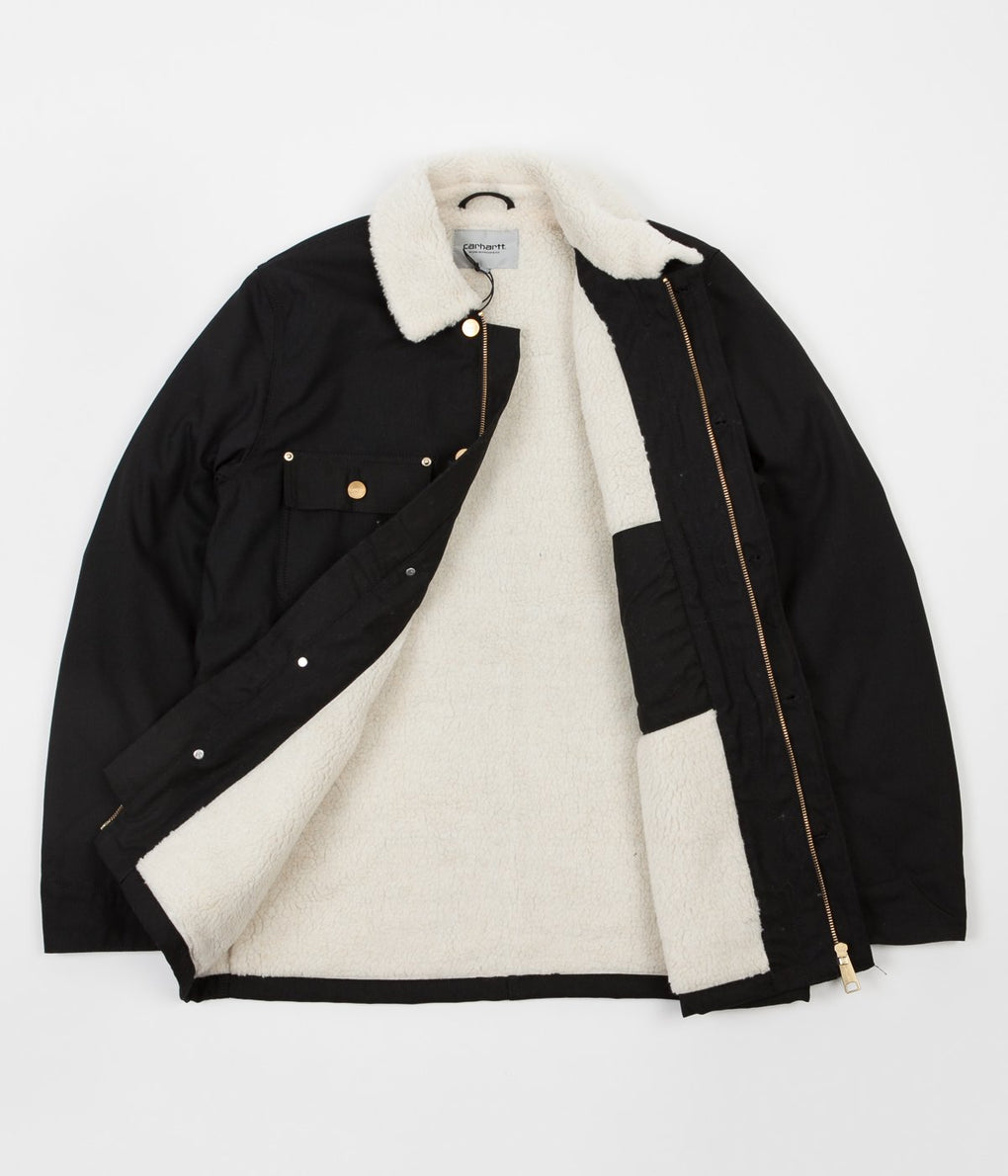 Carhartt Fairmount Coat - Black Rigid