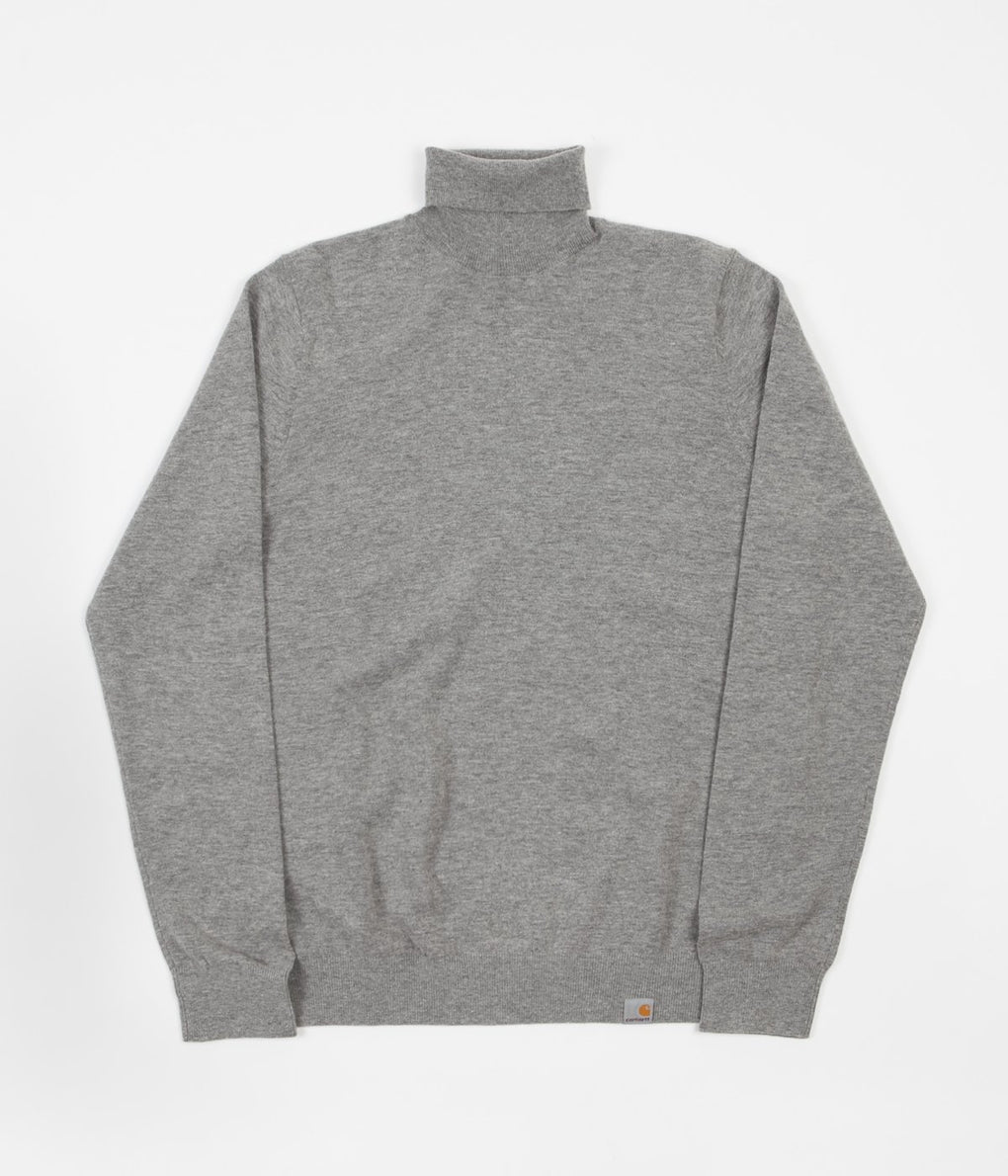 Carhartt Playoff Turtleneck Sweatshirt - Grey Heather