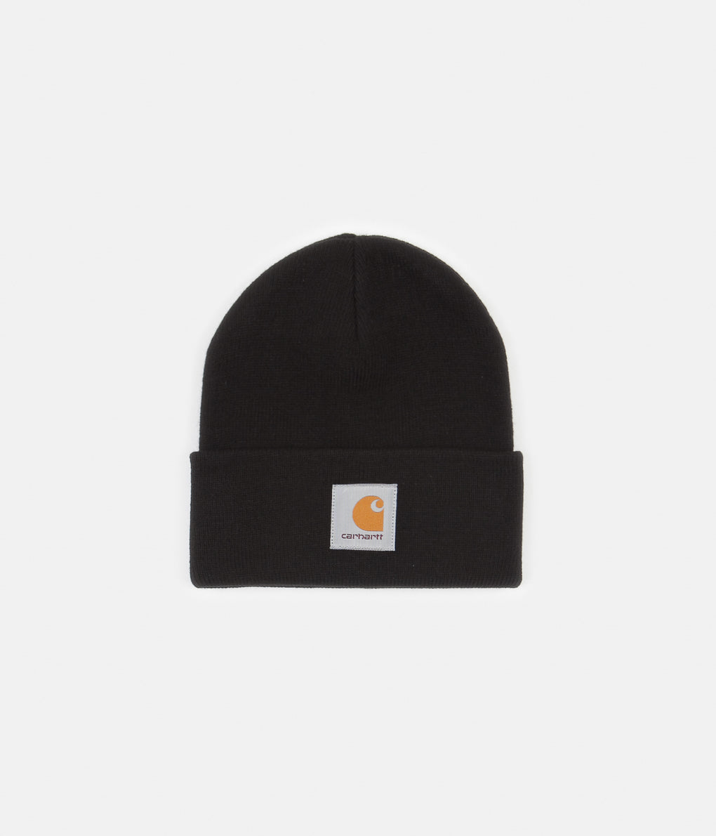 Carhartt Short Watch Hat Beanie - Black