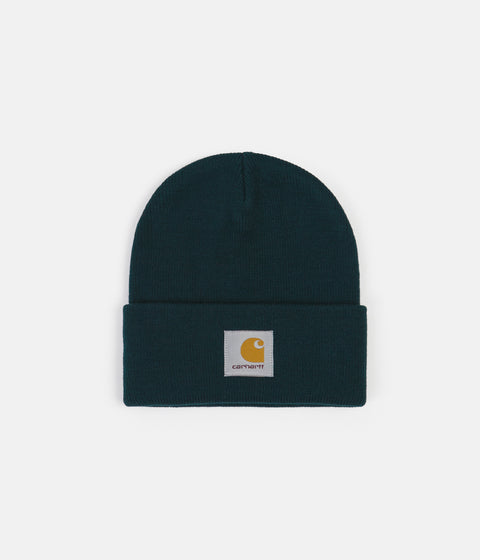 Carhartt Short Watch Hat Beanie - Deep Lagoon