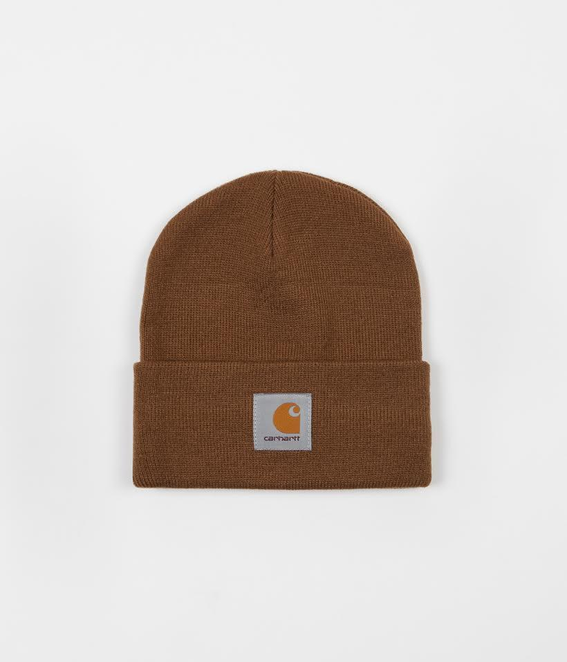 Carhartt Short Watch Hat Beanie - Hamilton brown