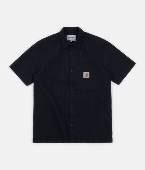 Carhartt Southfield Short Sleeve Shirt - Dark Navy