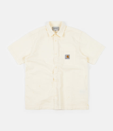 Carhartt Southfield Short Sleeve Shirt - Wax