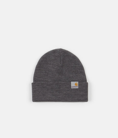 Carhartt Stratus Low Beanie - Dark Grey Heather