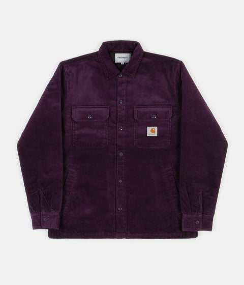 Carhartt Whitsome Shirt Jacket - Boysenberry