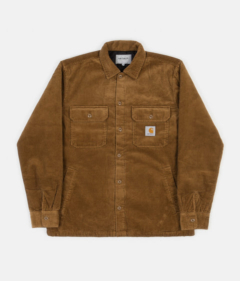 Carhartt Whitsome Shirt Jacket - Hamilton Brown