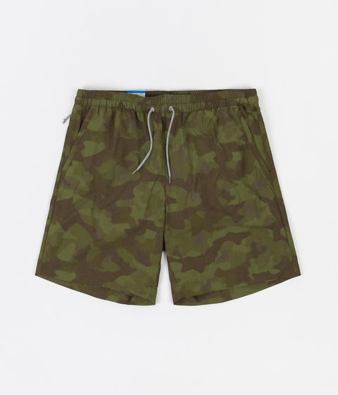Columbia Summerdry Shorts - Matcha Spotted Camo