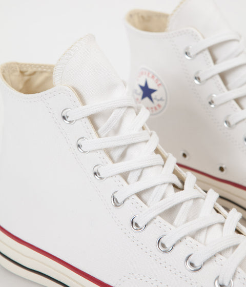 Converse CTAS 70's Hi Shoes - White / Egret / Black