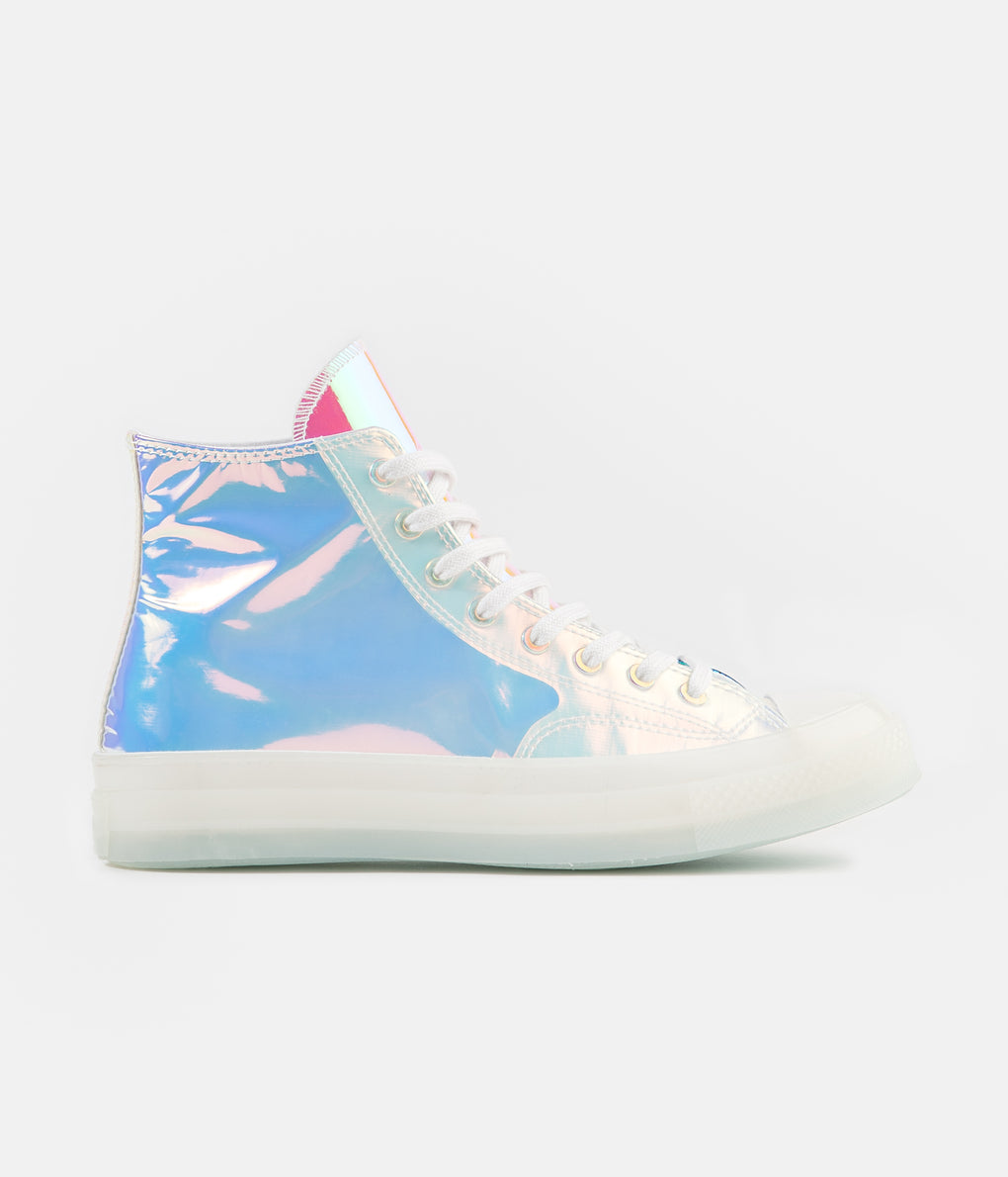 Converse CTAS 70's Hi Shoes - White / Iridescent / White