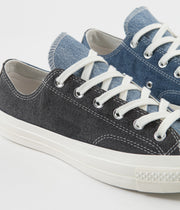 Converse CTAS 70's Ox Renew Denim Shoes - Dark Denim / Light Denim / Egret