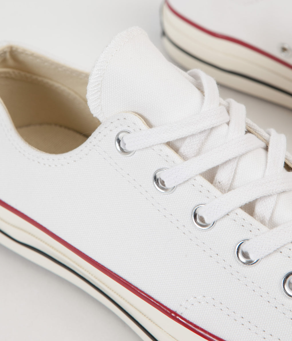 Converse CTAS 70's Ox Shoes - White / Red / Black