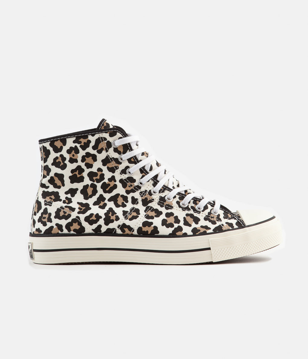 Converse Lucky Star Hi Archive Print Remixed Shoes - Driftwood / Light Fawn / Black