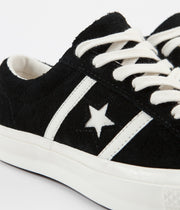 Converse One Star Academy Ox Shoes - Black / Egret / Egret