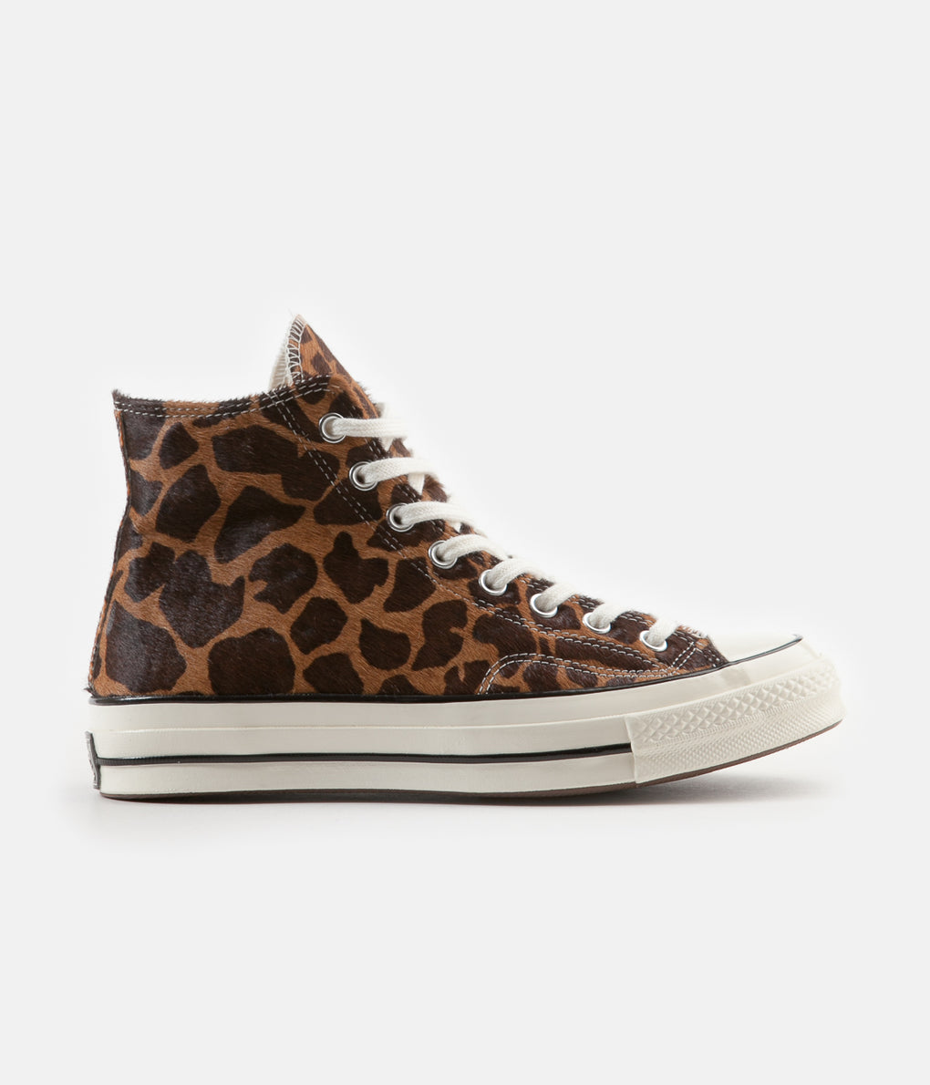 Converse Pony Pack CTAS 70's Hi Shoes - Brown / Tan / Egret