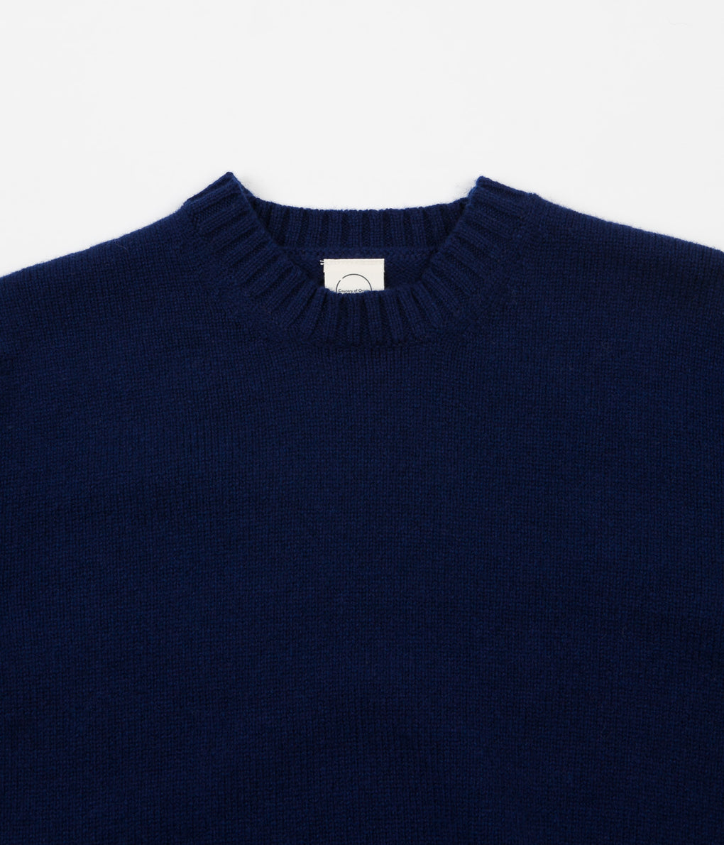 Country Of Origin Crewneck Sweatshirt - Navy