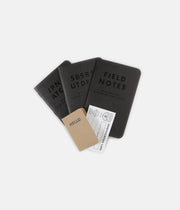 Field Notes Clandestine Notebooks - 3 Pack