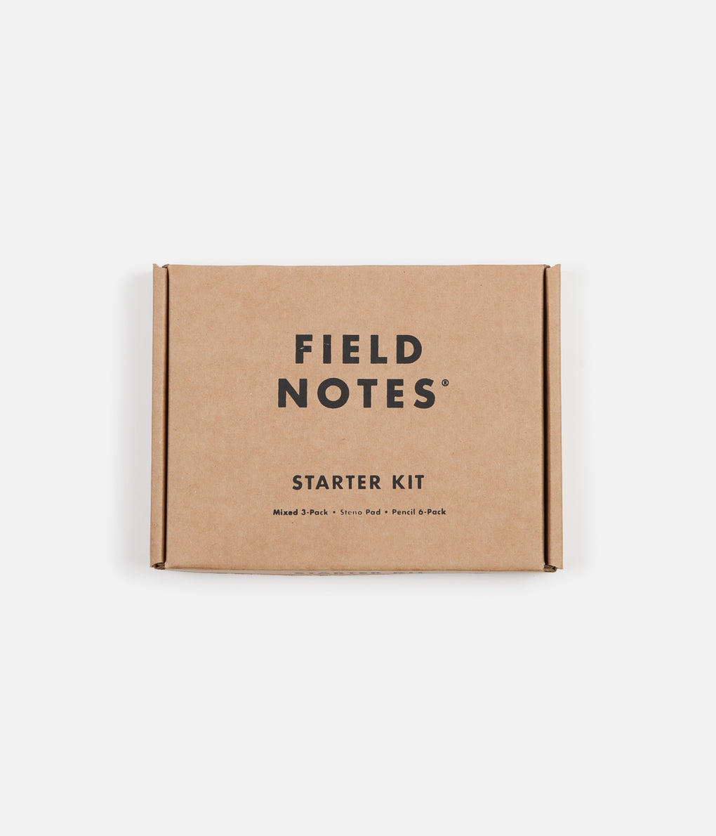 Field Notes Starter Kit - Brown