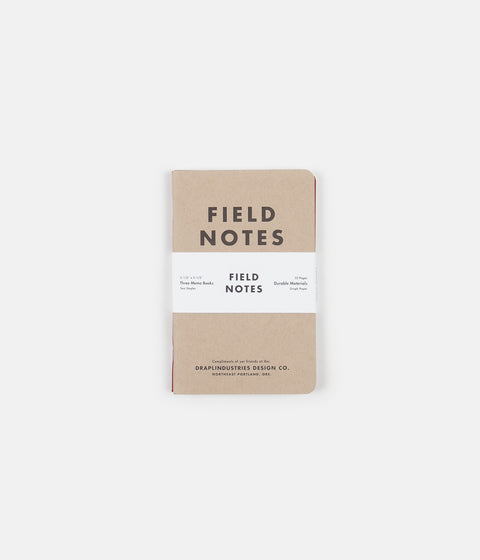Field Notes Tenth Anniversary Edition - 3 Pack