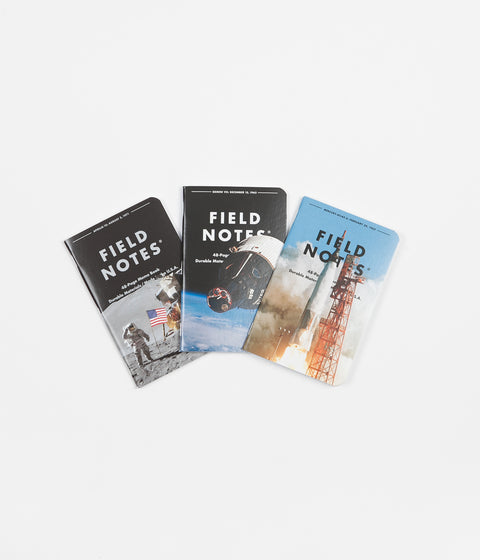 Field Notes Three Missions Memo Books (With Punch Out Models) - Pocket Size