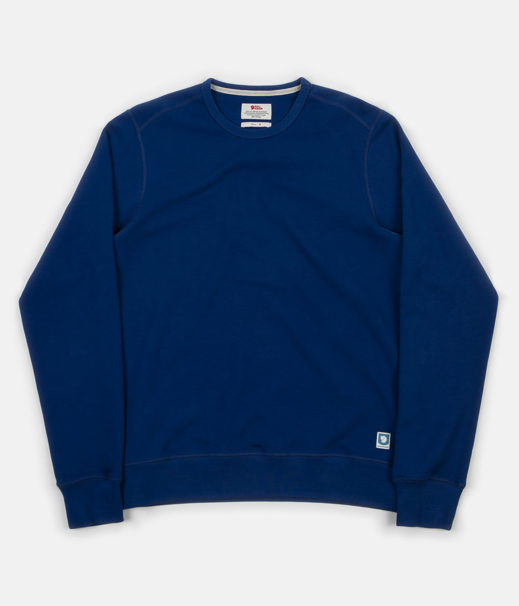 Fjällräven Greenland Sweatshirt - Deep Blue