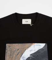 Folk Alfie T-Shirt - Black