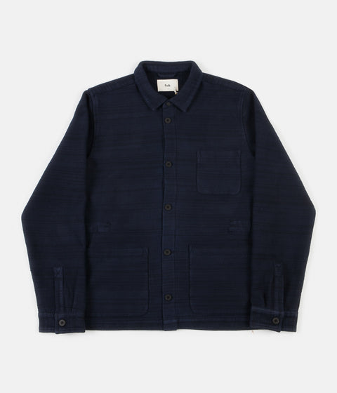 Folk Assembly Jacket - Navy Texture