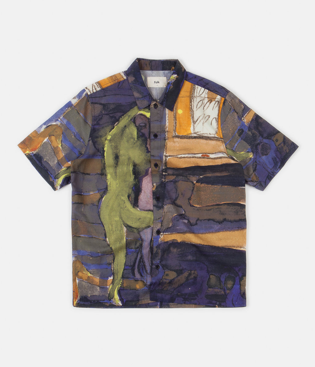 Folk Gabe Shirt - Figure Print