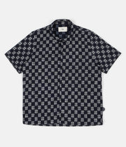 Folk Gabe Shirt - Indigo Check