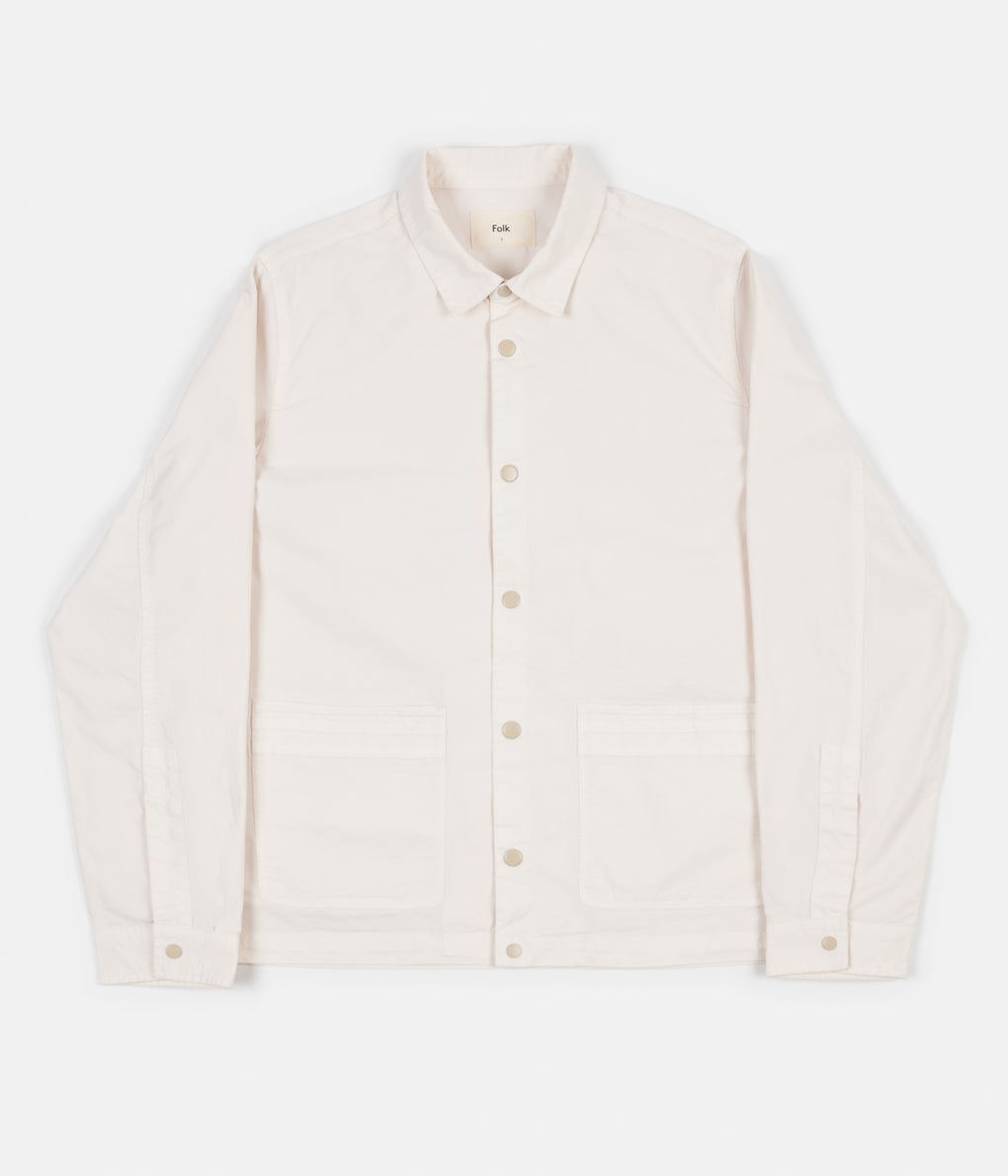 Folk Horizon Jacket - Ecru